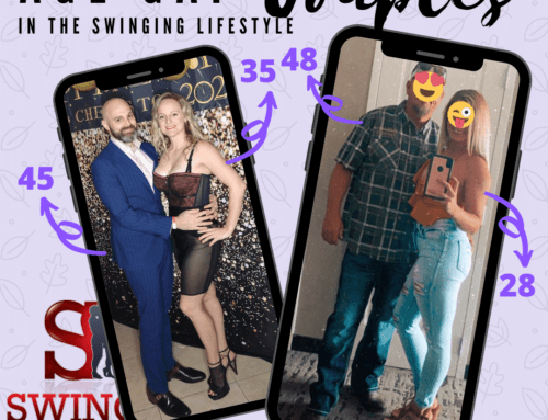 109: Swinging as an age gap couple